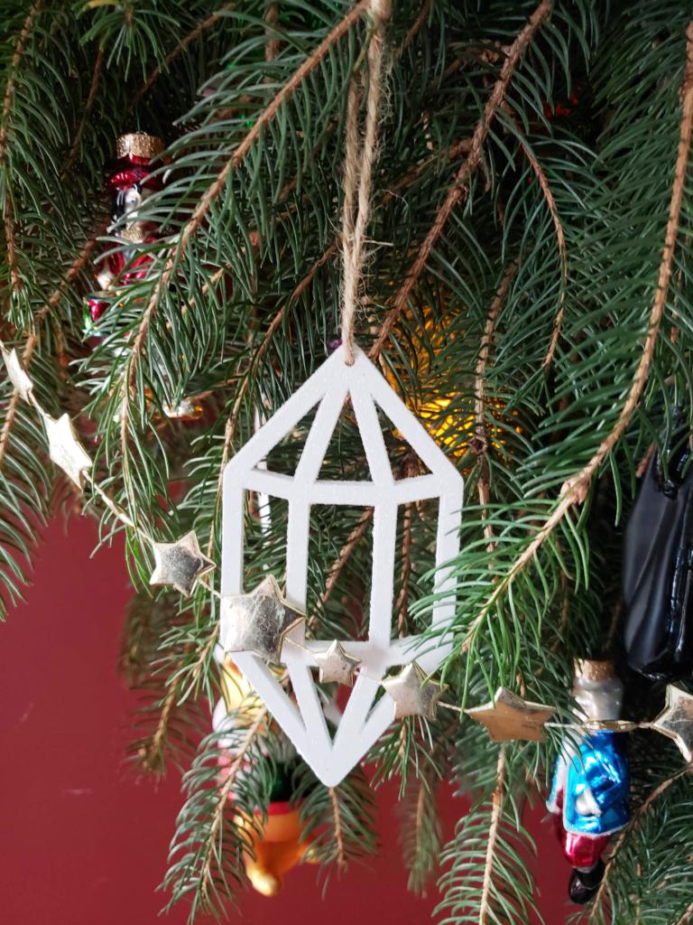 wooden crustal ornament